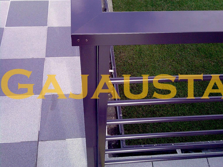 Balkono-tureklai-aliuminio-d20H-31
