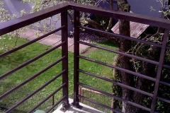 Balkono-tureklai-aliuminio-d20H-25